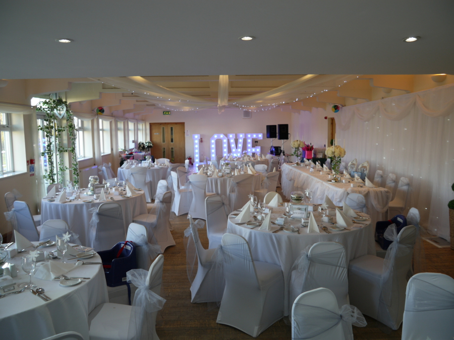 Function Room At Birkenhead Park Rugby Club Wirral Wedding Venue